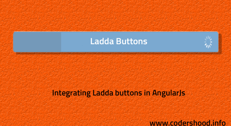 Integrating Ladda buttons in AngularJs