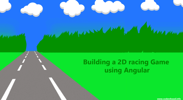 Building a 2D racing Game using Angular