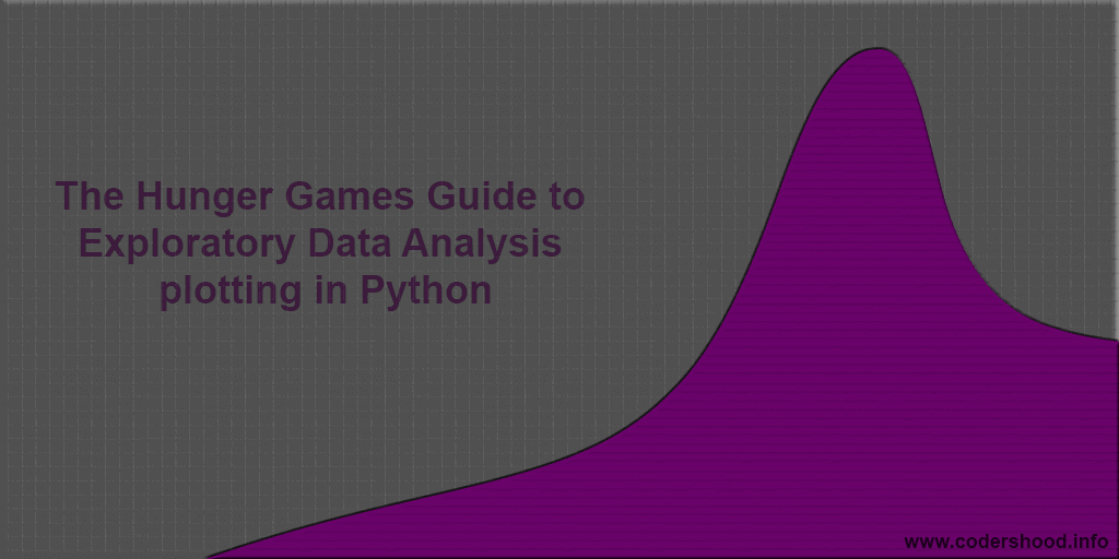 The Hunger Games Guide To Exploratory Data Analysis Plotting In Python Codershood